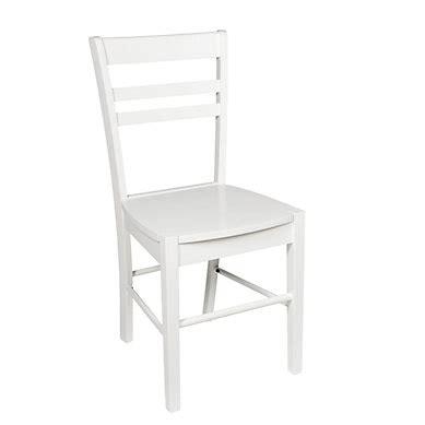 chaise plastique blanche chaises cuisine blanches maison design wiblia com