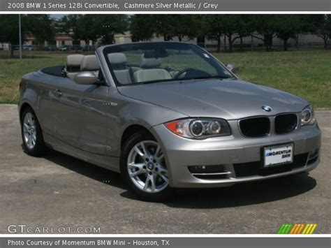2008 Bmw 128i by Silver Metallic 2008 Bmw 1 Series 128i