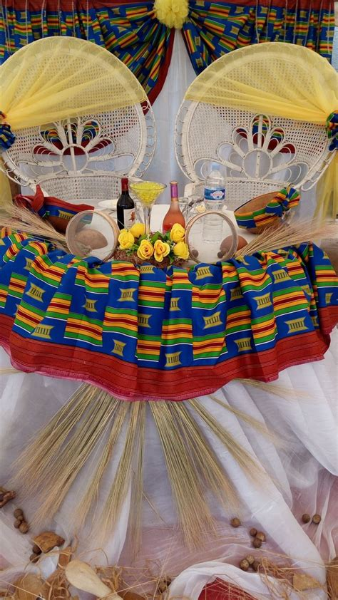 decoration mariage traditionnel touti creation