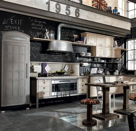 Vintage Style Kitchens by Marchi Group   1956 and Loft