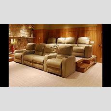 Home Theater Room Seating Ideas  Youtube