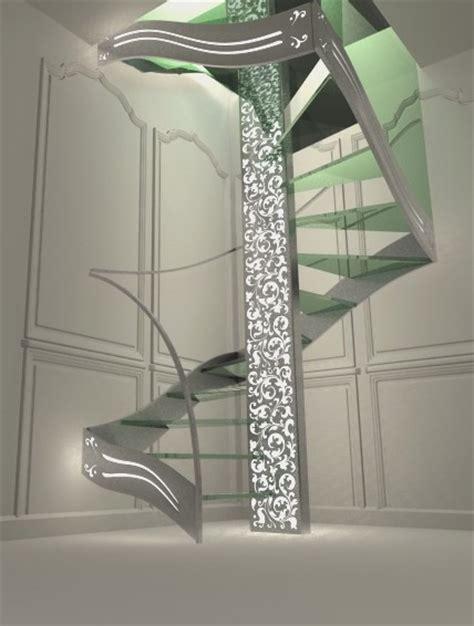 Escalier Design Double Quart Tournant Renaissance
