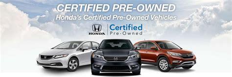 Certified Pre-owned Honda Cars