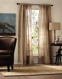 Decoration Pour Rideau : le rideau en lin une belle d coration pour l 39 int rieur d cors pour la maison ~ Melissatoandfro.com Idées de Décoration