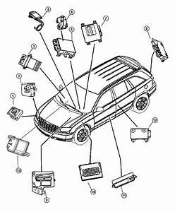 2006 Chrysler Module  Immobilizer  Systemblackbeigeb  Reciever