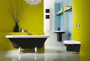 25 cool yellow bathroom design ideas freshnist With pictures of cool bathrooms