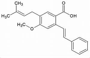 Structure Of Cajaninstilbene Acid