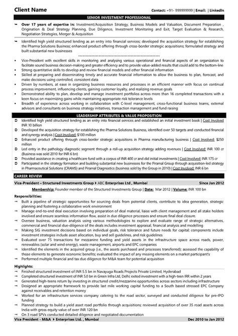banking essay one page cv investment banking cv vs template best