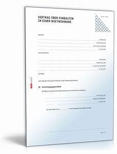 übergabe Einer Mietwohnung : vertrag ber einbauten in einer mietwohnung muster ~ Lizthompson.info Haus und Dekorationen