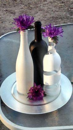 centerpieces wine bottles wedding google search