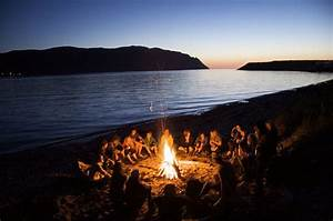 beach, campfire, fire, friends, happy, photo - image ...