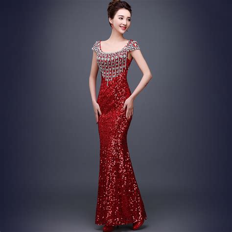 Buy Rhinestone 2016 New Long Night Party