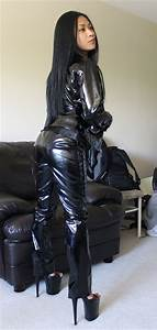 Asian Leather Girl (47) Asian, Leather and Hot brunette