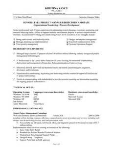 coaching resume example senior level project manager blueprint résumés consulting