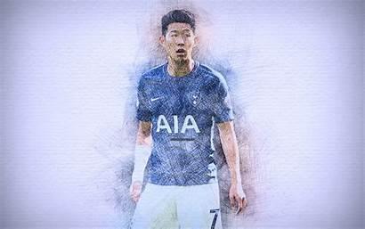 Son Heung Min 4k Tottenham Hotspur Football