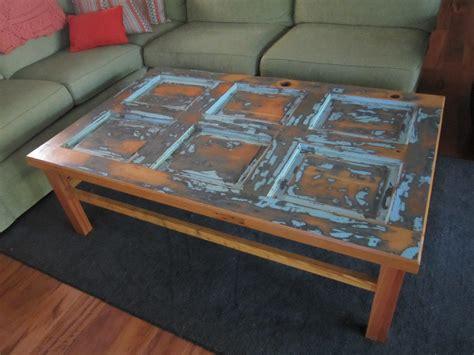 2 door coffee table vintage door coffee table two crows designs