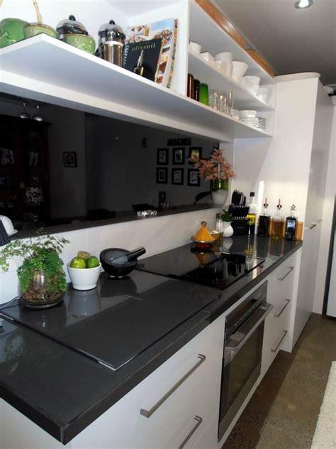 wallpaper kitchen cabinets black and white kitchen laminex polar white with 3326