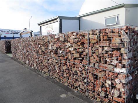 gabion rock baskets secure rock wall fences rock basket
