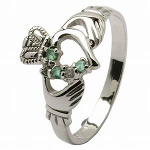 claddagh ring store photo details With irish wedding rings how to wear