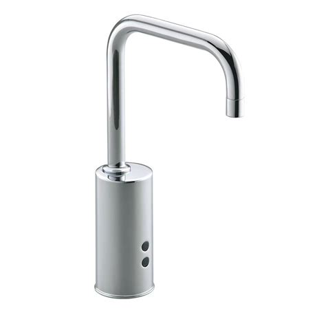 Kohler Touchless Faucet Battery Replacement by Kohler Geometric Battery Powered Single Touchless