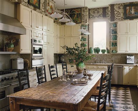 Wallpaper Ideas For Country Kitchen  Joy Studio Design
