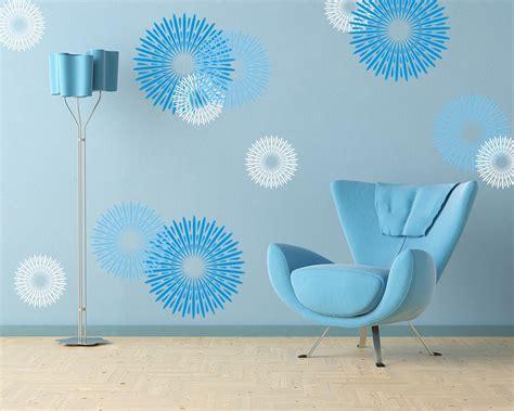 Wand Blau Streichen by Wand Streichen In Farbpalette Der Wandfarbe Blau Freshouse