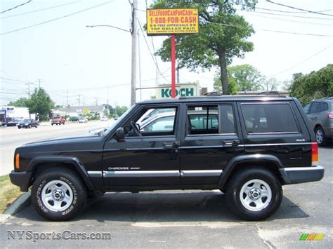 2000 jeep cherokee black 2000 jeep cherokee sport 4x4 in black photo 2 119994