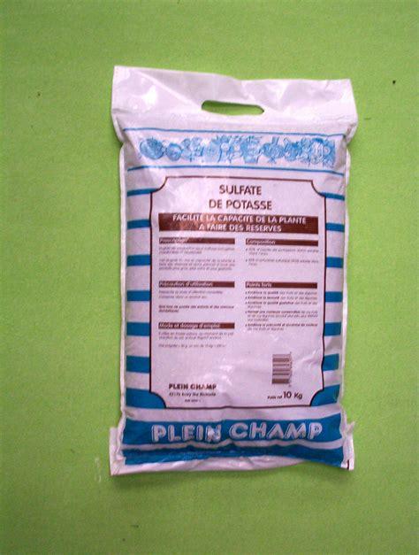 sulfate de potasse engrais engrais les engrais plein ch engrais du potager sulfate de potasse