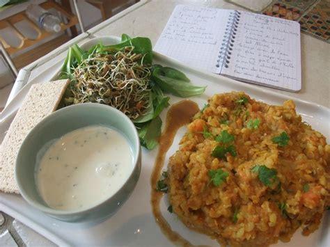 cours de cuisine sans gluten recette du dal bath plat indien ecole vivre autrement