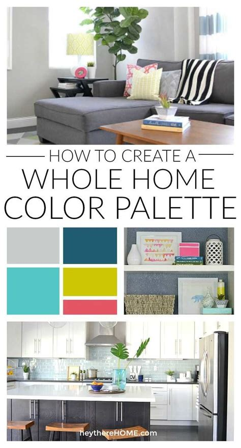 Home Interior Color Palettes by How To Create A Whole Home Color Palette