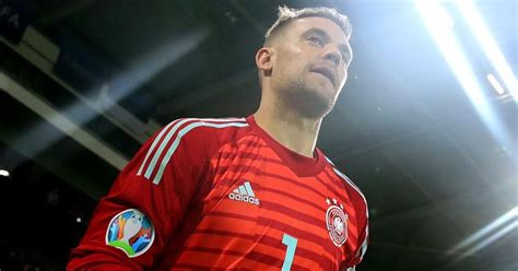 germany euro goalkeeper kit glory red footy headlines
