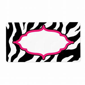 custom classic zebra labels zazzle With custom zebra labels