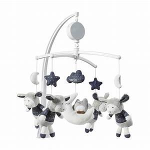 mobile bebe musical merlin de sauthon baby deco en vente With chambre bébé design avec fleuriste qui livre a domicile