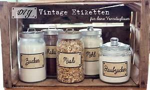 Etiketten Für Gläser : diy vintage etiketten f r deine vorratsgl ser freebie printables vinta ~ One.caynefoto.club Haus und Dekorationen