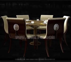 Cycle Redwood Combinaison Table Manger 3D Model