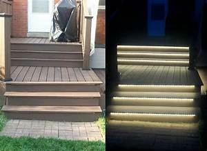 56 best stair lighting images on pinterest interior With low voltage outdoor lighting for steps