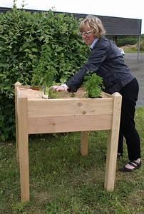 Jardinière En Hauteur : jardini res sur pieds en bois massif vente de produits ~ Nature-et-papiers.com Idées de Décoration