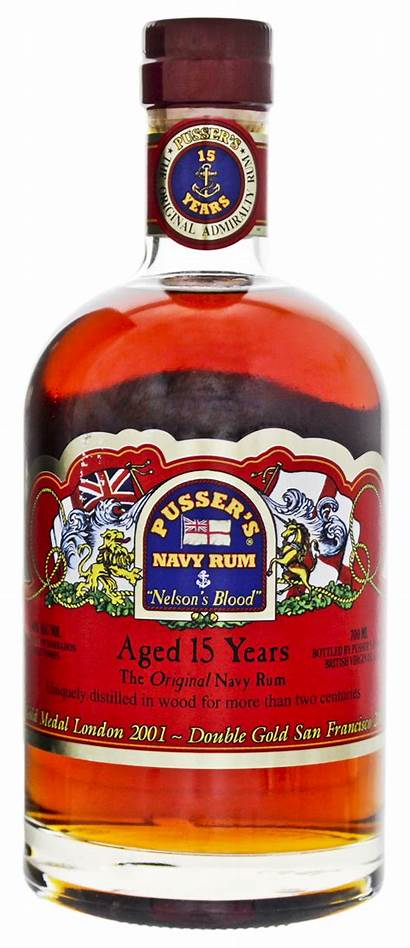 Rum British Navy Blood Pusser Nelson Pussers