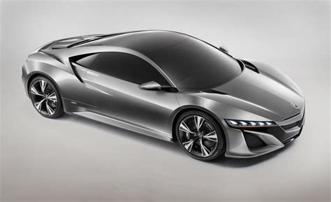 2015 acura nsx concept smart luxury supercar