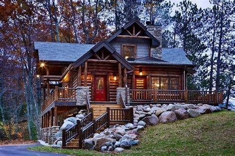 A Modern Log Cabin  One Day!  Pinterest