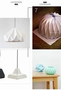 Abat Jour Origami : diy abat jour et bougeoirs ~ Teatrodelosmanantiales.com Idées de Décoration