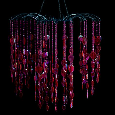 large pink chandelier large pink waterfall chandelier