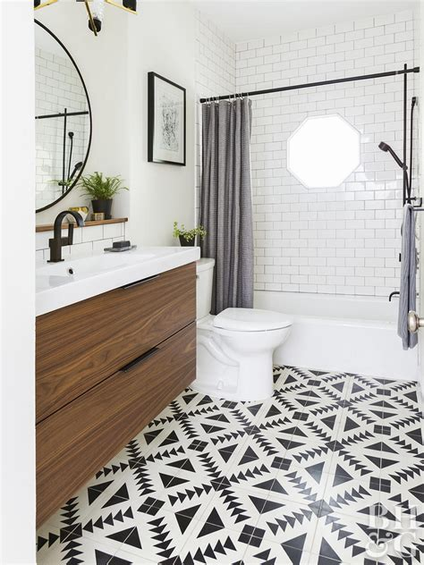 Bathroom Tub Tile Designs by Ways To Use Tile In Your Bathroom Better Homes Gardens