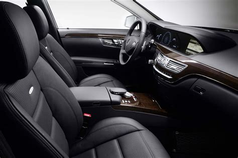 photo classe s63 amg interieur