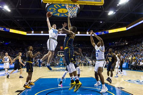 ucla mens basketball leads cal    halftime daily