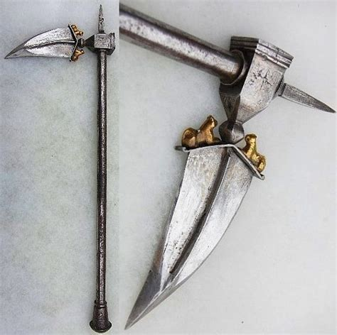 Pin on Indo-Persian war hammers, zaghnal, bhuj and flails.