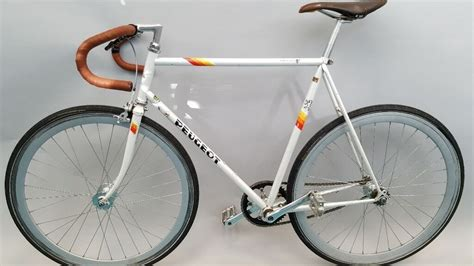 Peugeot Fixed Gear by Peugeot Fixie Single Speed Fixed Gear Bike Bicycle Flip