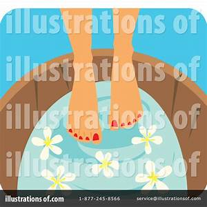Foot Spa Clipart