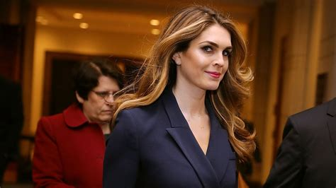 Hope Hicks, President Trump's Communications Director, to ...