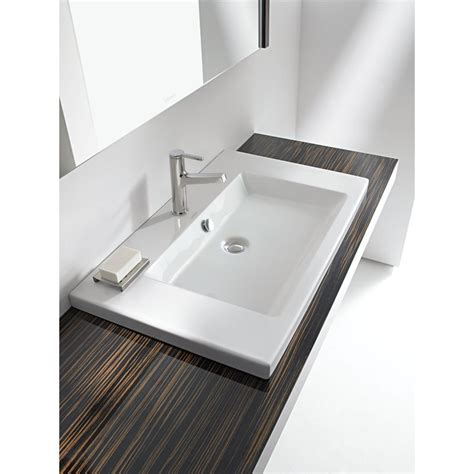 Duravit 2nd Floor 600 x 430 Vanity Inset Basin White